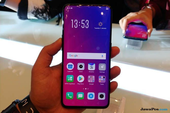 Oppo Find X, smartphone flagship 2018, smartphone flagship terbaru
