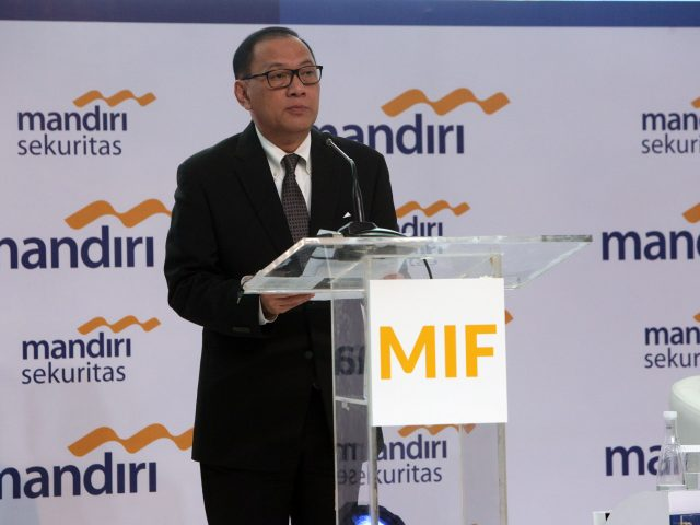 Agus Martowardojo di Mandiri Investment Forum