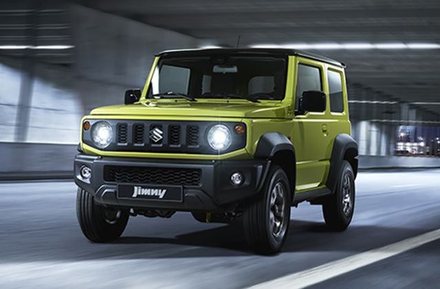 Ini Dia Sosok The All New Suzuki Jimny
