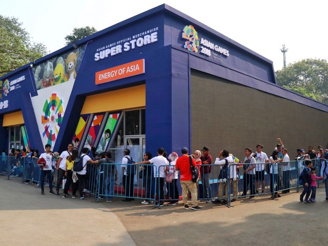 Official Merchandise Super Store Asian Games Laris Manis