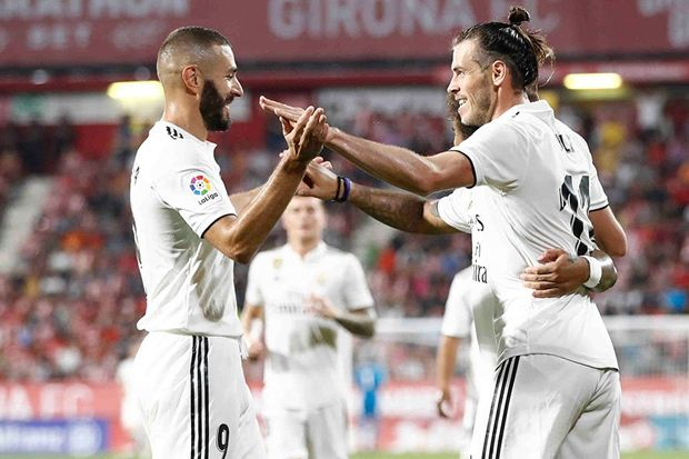 Real Madrid Pesta Gol di Markas Girona