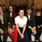 David Beckham Beserta 4 Anaknya Dukung VB di London Fashion Week