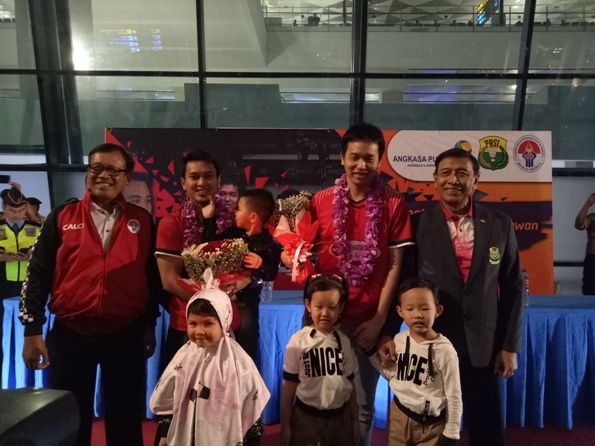 Indonesia Sambut Kepulangan The Daddies