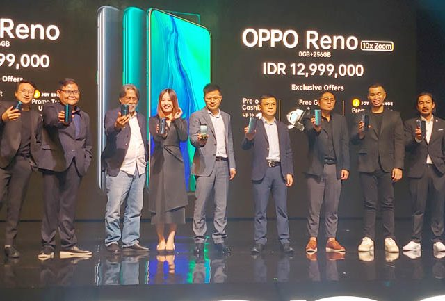 Oppo Reno Akhirnya Resmi Rilis di Indonesia, Segini Harganya
