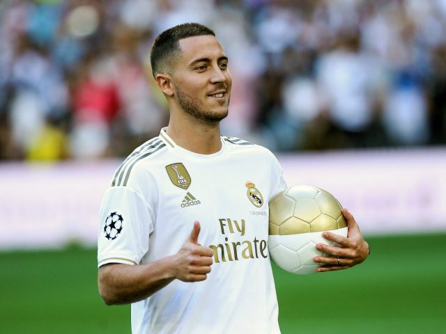 Debut Eden Hazard Bersama Real Madrid Tertunda Hingga September