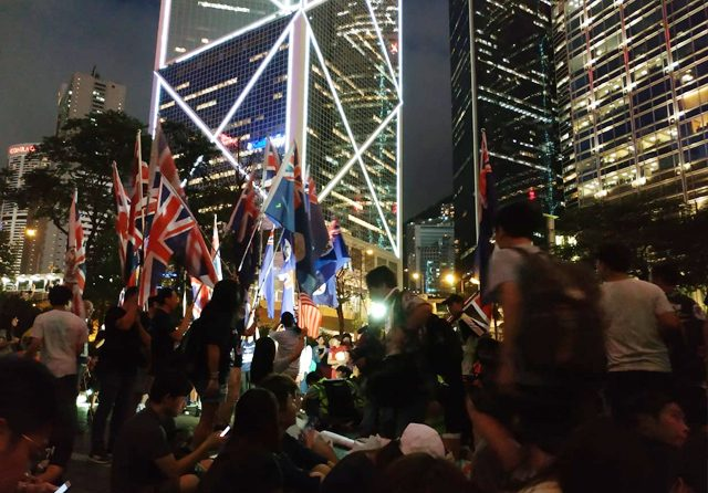 Aksi Demo Simpatik, Hongkongers: We Are British, Not Chinese!