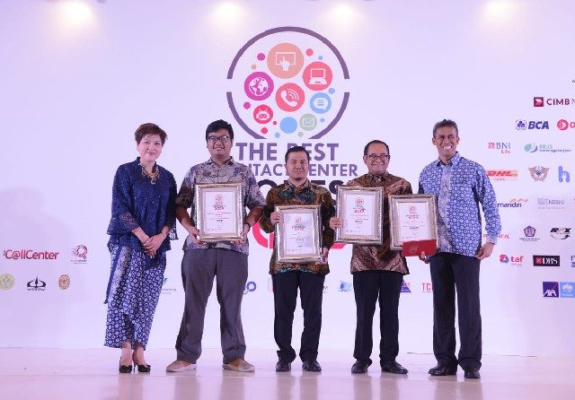 PGN Raih 5 Penghargaan di Ajang The Best Contact Center Indonesia