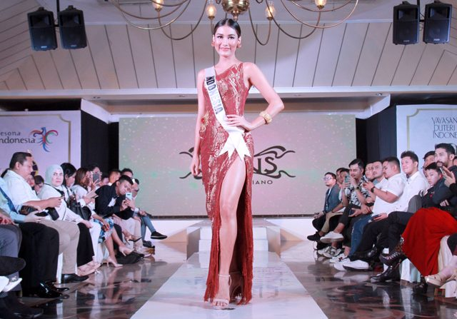 Frederika Alexis Cull Wakili Indonesia Di ajang Miss Universe 2019