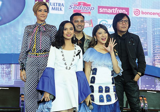 Tiara dan Lyodra Grand Finalist Indonesian Idol X